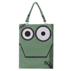 Cartoon Cute Frankenstein Halloween Classic Tote Bag