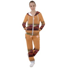 Hamburger Cheeseburger Burger Lunch Women s Tracksuit by Sudhe