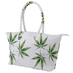 Cannabis Curative Cut Out Drug Canvas Shoulder Bag