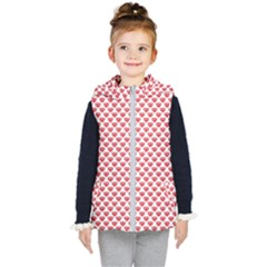 Brilliant Patern Abstract Kids  Hooded Puffer Vest