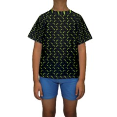 Geckos Pattern Kids  Short Sleeve Swimwear by bloomingvinedesign