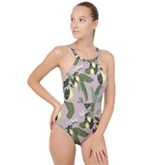 12 20 C3 High Neck One Piece Swimsuit by tangdynasty