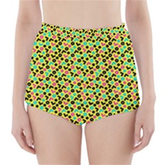 Back To The 80s High Waisted Bikini Bottoms by tarastyle