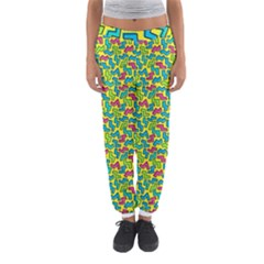 80s 90s Pattern 4 Women s Jogger Sweatpants by tarastyle