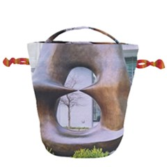 Henry Moore Drawstring Bucket Bag by Riverwoman