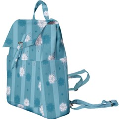 Gardenia Flowers White Blue Buckle Everyday Backpack