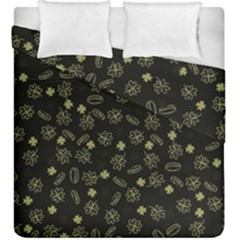 St Patricks Day Pattern Duvet Cover Double Side (king Size) by Valentinaart
