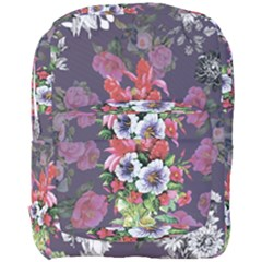 Vintage Flowers Pattern Full Print Backpack by goljakoff