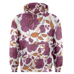 Rose Flowers Pattern Men s Pullover Hoodie by goljakoff