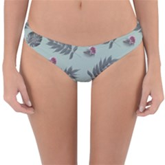Tropical Pattern Reversible Hipster Bikini Bottoms by LoolyElzayat