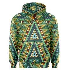 Native African Pattern Men s Pullover Hoodie by goljakoff