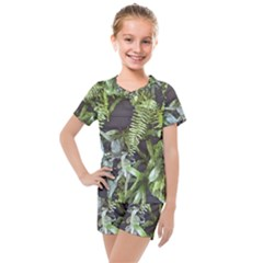 Living Wall Kids  Mesh Tee And Shorts Set by Riverwoman