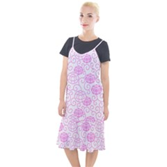 Peony Asia Spring Flowers Natural Camis Fishtail Dress by Pakrebo