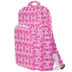 Heart Pink Double Compartment Backpack