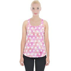 Traditional Patterns Hemp Pattern Piece Up Tank Top
