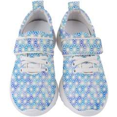 Traditional Patterns Hemp Pattern Kids  Velcro Strap Shoes