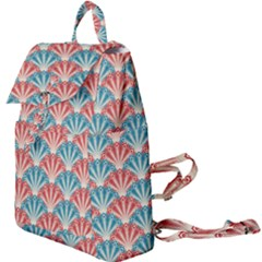 Seamless Patter Peacock Feathers Buckle Everyday Backpack