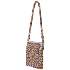 Orange Seamless Pattern Tile Multi Function Travel Bag