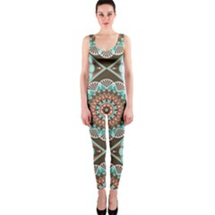 Seamless Pattern Colorful Wallpaper One Piece Catsuit