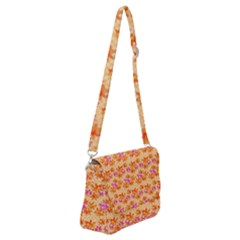Maple Leaf Autumnal Leaves Autumn Shoulder Bag With Back Zipper