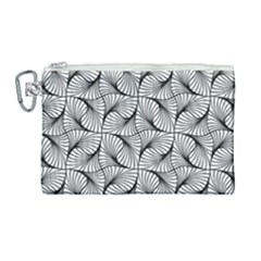 Abstract Seamless Pattern Canvas Cosmetic Bag (large)
