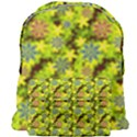 Flowers Yellow Red Blue Seamless Giant Full Print Backpack View1