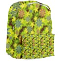 Flowers Yellow Red Blue Seamless Giant Full Print Backpack View3