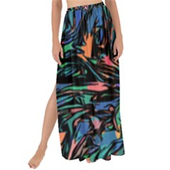 Tree Forest Abstract Forrest Maxi Chiffon Tie Up Sarong