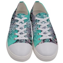 Dandelion Seeds Flower Nature Women s Low Top Canvas Sneakers