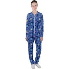 Floral Design Asia Seamless Pattern Casual Jacket And Pants Set by Pakrebo
