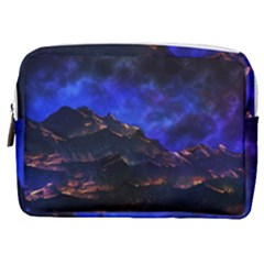 Landscape Sci Fi Alien World Make Up Pouch (medium)