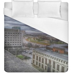 Ohio Supreme Court View Duvet Cover (king Size) by Riverwoman