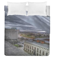 Ohio Supreme Court View Duvet Cover Double Side (queen Size) by Riverwoman