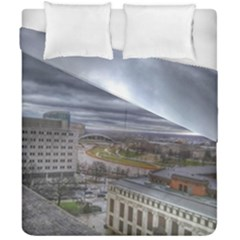Ohio Supreme Court View Duvet Cover Double Side (california King Size) by Riverwoman