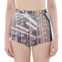 Chicago L Morning Commute High-waisted Bikini Bottoms by Riverwoman