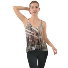 Chicago L Morning Commute Chiffon Cami by Riverwoman