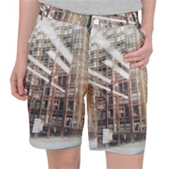 Chicago L Morning Commute Pocket Shorts by Riverwoman