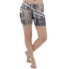 Chicago L Morning Commute Lightweight Velour Yoga Shorts by Riverwoman