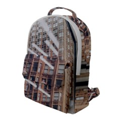 Chicago L Morning Commute Flap Pocket Backpack (large) by Riverwoman
