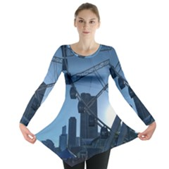 Navy Pier Chicago Long Sleeve Tunic