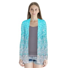 Sea Shore Drape Collar Cardigan by Seashineswimwear