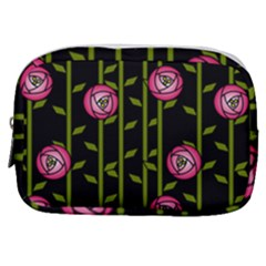 Abstract Rose Garden Make Up Pouch (small) by Alisyart