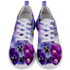 Pansy Isolated Violet Nature Men s Lightweight Sports Shoes