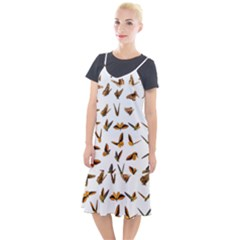 Butterfly Butterflies Insect Swarm Camis Fishtail Dress by Pakrebo