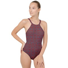 Ml 146 High Neck One Piece Swimsuit