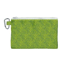 Oak Tree Nature Ongoing Pattern Canvas Cosmetic Bag (medium)