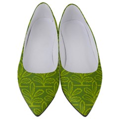 Oak Tree Nature Ongoing Pattern Women s Low Heels by Mariart