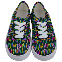 Pattern Back To School Schultuete Kids  Classic Low Top Sneakers