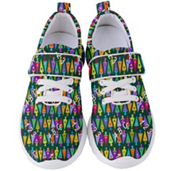 Pattern Back To School Schultuete Women s Velcro Strap Shoes