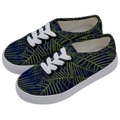 Fancy Tropical Pattern Kids  Classic Low Top Sneakers by tarastyle